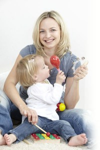 Foto de educación musical bebés