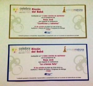 Foto invitaciones II Foro Centro Mi Matrona