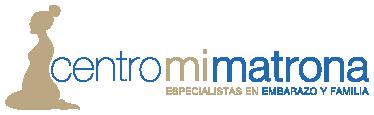 Logo Centro Mi Matrona. Especialistas en embarazo, parto, postparto y familia
