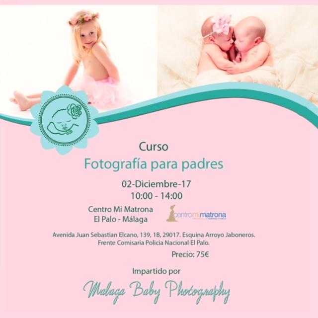 Curso de fotografía para bebés
